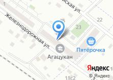 Компания «Мастерская по ремонту обуви и изготовлению ключей на Железнодорожной» на карте
