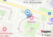 Компания «Мастерская по ремонту одежды в Уваровском переулке» на карте