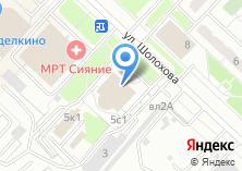 Компания «Универсал авто» на карте