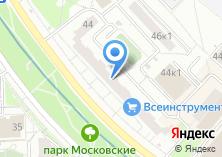 Компания «1001 Тур» на карте