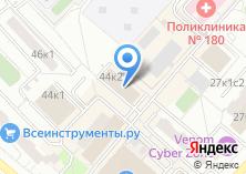 Компания «Почтовое отделение №125430» на карте