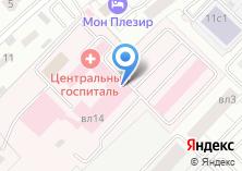 Компания «Лечебно-реабилитационный клинический центр» на карте