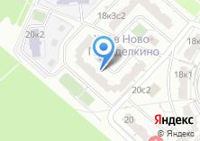 Компания «Боровское 20-1» на карте