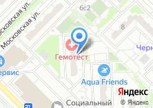 Компания «МедиАнт» на карте