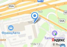 Компания «Onlinekoleso.ru» на карте