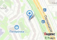 Компания «Дом быта на Пятницком шоссе» на карте