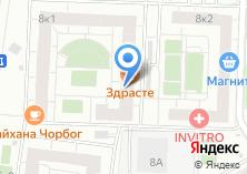 Компания «MET» на карте
