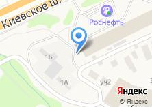 Компания «Продуктовый магазин на Киевском шоссе 23 км» на карте
