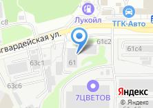 Компания «Мириком» на карте