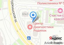 Компания «Новокуркино» на карте
