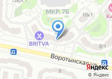 Компания «ФЛОРИСТ ЭКСПРЕСС» на карте