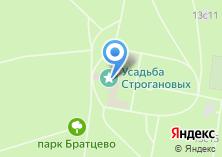 Компания «Братцево» на карте