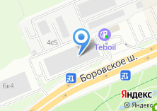 Компания «Автостоянка на Боровском шоссе» на карте