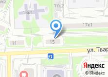 Компания «ОПОП Северо-Западного административного округа район Строгино» на карте