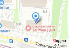 Компания «Invista» на карте