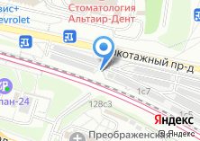 Компания «Автостоянка на ул. Василия Петушкова» на карте