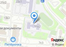 Компания «Средняя общеобразовательная школа №821 с дошкольным отделением» на карте