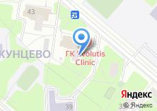 Компания «Кунцевский медико-реабилитационный центр под руководством В.И. Дикуля» на карте