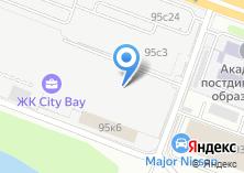 Компания «Мактек» на карте