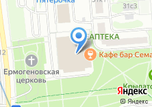 Компания «Заматин» на карте