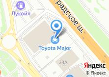 Компания «Major Toyota» на карте