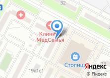 Компания «МедСемья» на карте