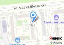 Компания «Ремонт окон Саларьево» на карте