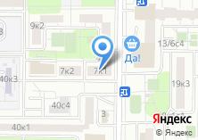 Компания «МОСКОВСКИЙ КЛИМАТ» на карте
