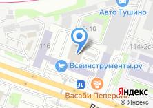 Компания «ДВЕРНОЙ ПРОЕКТ» на карте