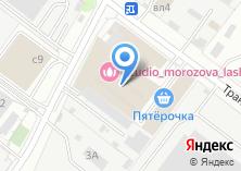 Компания «Витражи и художественное стекло» на карте