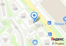 Компания «Автоломбард Национальный кредит» на карте