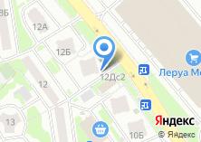 Компания «Элемент Света» на карте