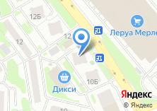 Компания «Барбершоп Параллакс - первый доступный в Химках» на карте