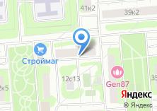 Компания «Участковый пункт полиции район Крылатское» на карте