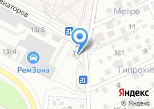 Компания «5-й микрорайон Солнцево» на карте