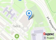 Компания «Ремонт окон Крылатское» на карте