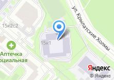 Компания «Средняя общеобразовательная школа №1133» на карте