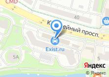 Компания «ОблВнешТур» на карте