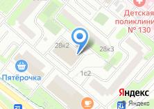 Компания «ИРА-БАНКПРОЕКТ» на карте