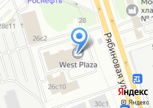 Компания «Рябиновая плаза» на карте