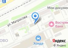 Компания «Востряково» на карте