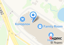 Компания «Лента» на карте