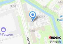 Компания «МегаКровля» на карте
