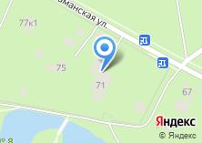Компания «Серебряный Бор» на карте