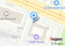 Компания «Окна-ФМ» на карте