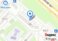 Компания «Дирекция строительства и эксплуатации объектов гаражного назначения» на карте