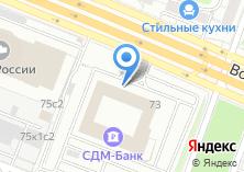 Компания «Креатив-мастер» на карте
