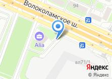 Компания «Тушинский» на карте