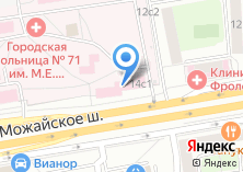 Компания «МЕЖДУНАРОДНАЯ HR-КОРПОРАЦИЯ CV & JOB» на карте