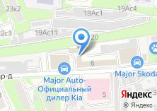 Компания «Major Renault» на карте